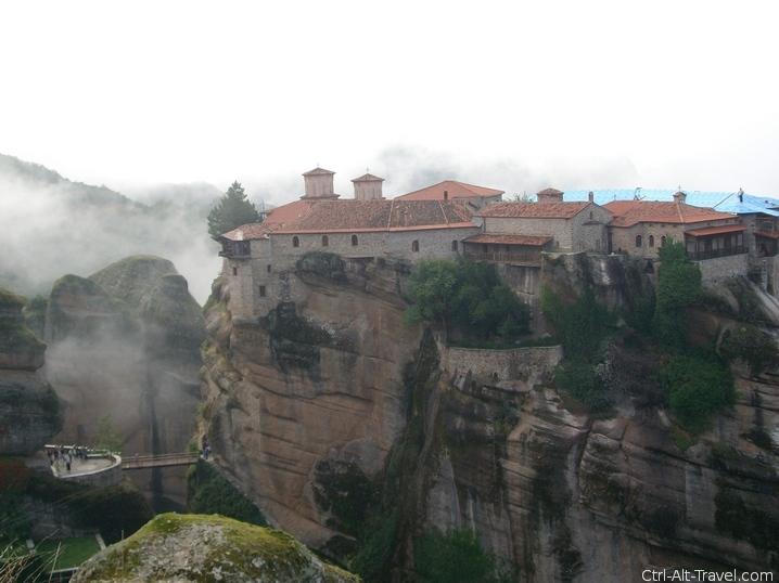 Holy Monastery of Varlaam - Grounded Traveler