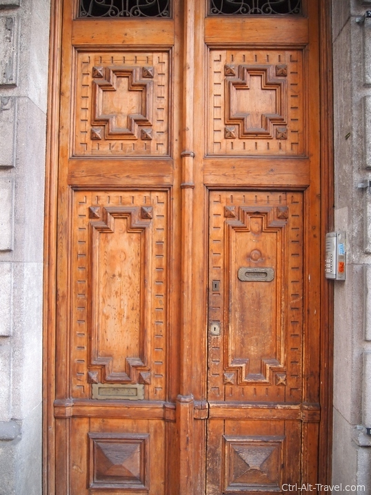 Doors of Barcelona and Valencia - Grounded Traveler