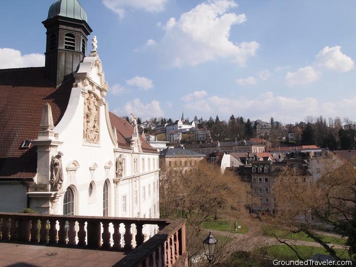 View over Baden-Baden