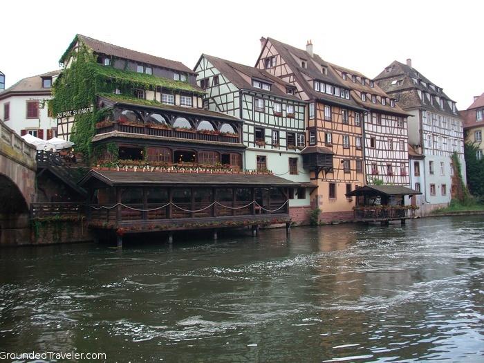 Strasbourg Riverside, Halftimber Houses