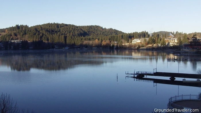 View of Titisee Lake in Black Forest Germany