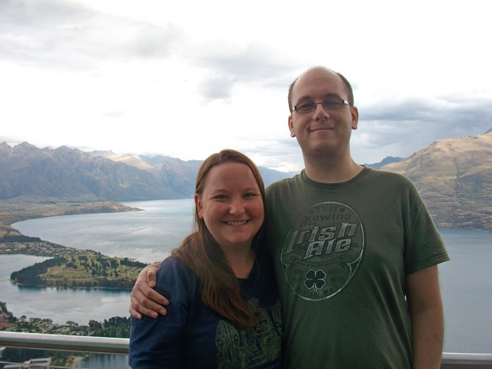 Ali and Andy in QUeenstown